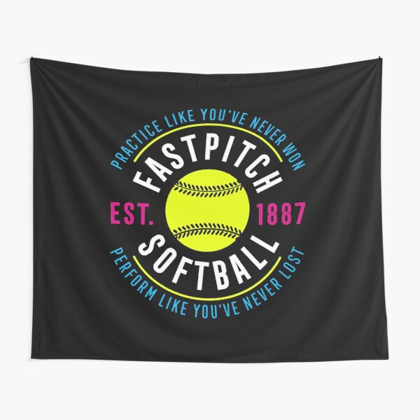 Fastpitch Softball Tapestry