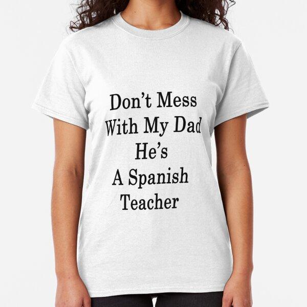 SPANISH TEACHER BY DAY NINJA BY NIGHT PERSONALISED T SHIRT