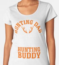 Hunting Dad Shirt for Fathers Day Women's Premium T-Shirt