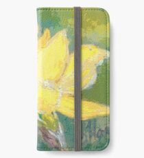 Retro Comic Daffodil iPhone Wallet/Case/Skin
