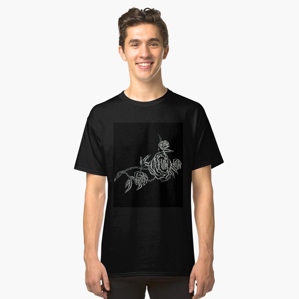 Inked Roses - Invertido Camiseta clásica