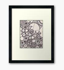 Circular Flaw Framed Print