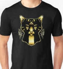 Gold Cat Unisex T-Shirt