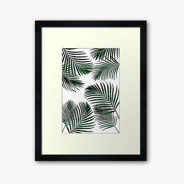Palm Leaf Prints Black And White Art Set Of Three Pineapple Unframed Ocean