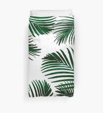 Tropisches Palmblatt Bettbezug