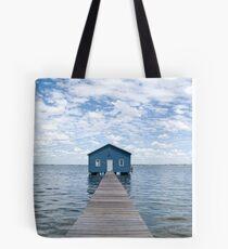 """Crawley Edge"" Boatshed, Perth, Western Australia Tote Bag"