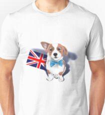 Corgi Union Jack T-Shirt