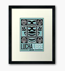 LUCHALIBRE MEXICO5 Framed Print