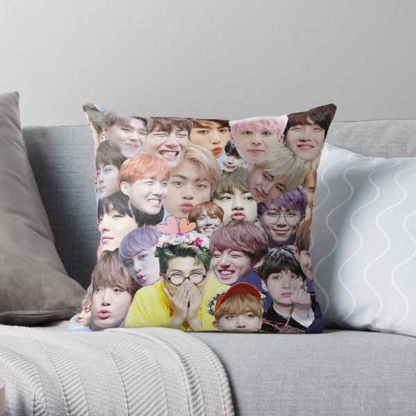Bts  Throw Pillow