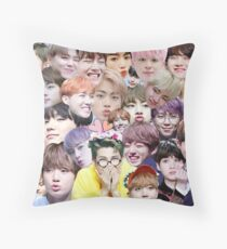 Bts  Throw Pillow