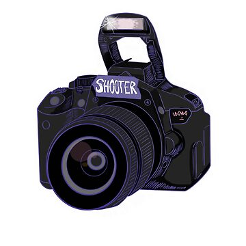 Camera Shooter Blue by mO-Designs