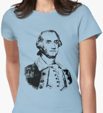 GENERAL GEORGE WASHINGTON Womens Fitted T-Shirt