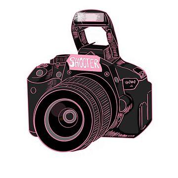 Camera Shooter Pink by mO-Designs