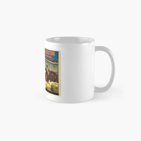 Mr. Trump Goes To Washington Classic Mug