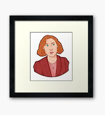 Scully - The X Files Framed Print