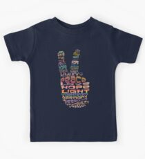 Peace tshirts Kids Tee