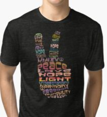 Peace tshirts Tri-blend T-Shirt