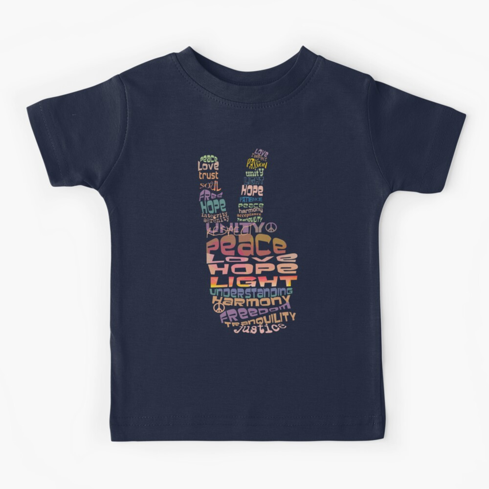Peace tshirts Kids T-Shirt
