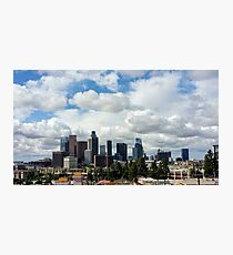 Los Angeles after the Rain Photographic Print