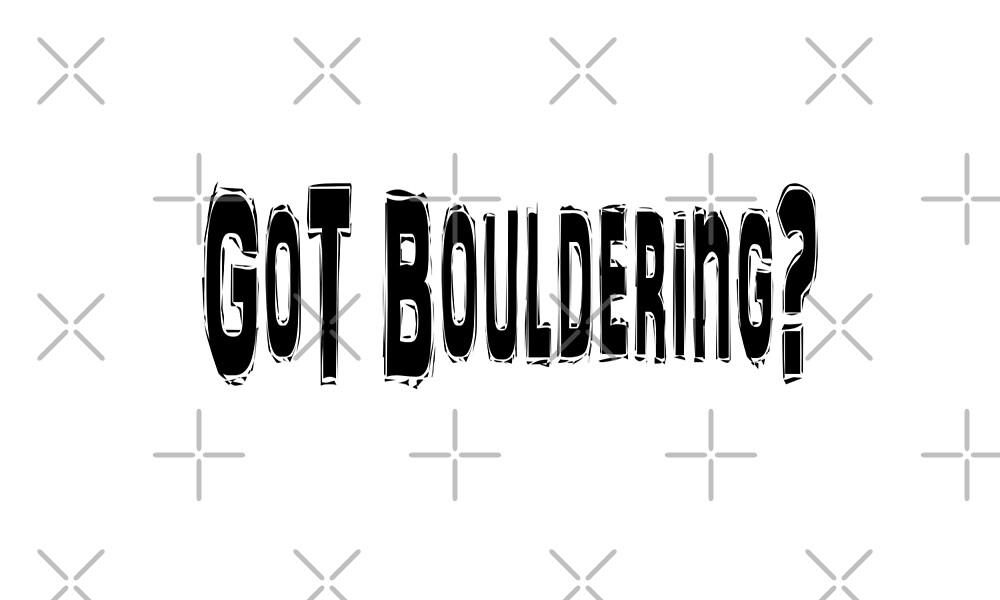 Bouldering  by greatshirts
