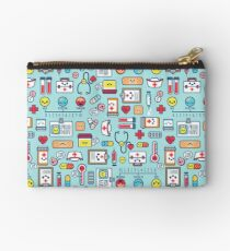 Proud To Be a Nurse / Surface Pattern Design / Blue Studio Pouch