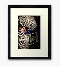 Tangled Baby Framed Print