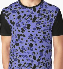 So Trippy Psychedelic Purple Pattern Graphic T-Shirt