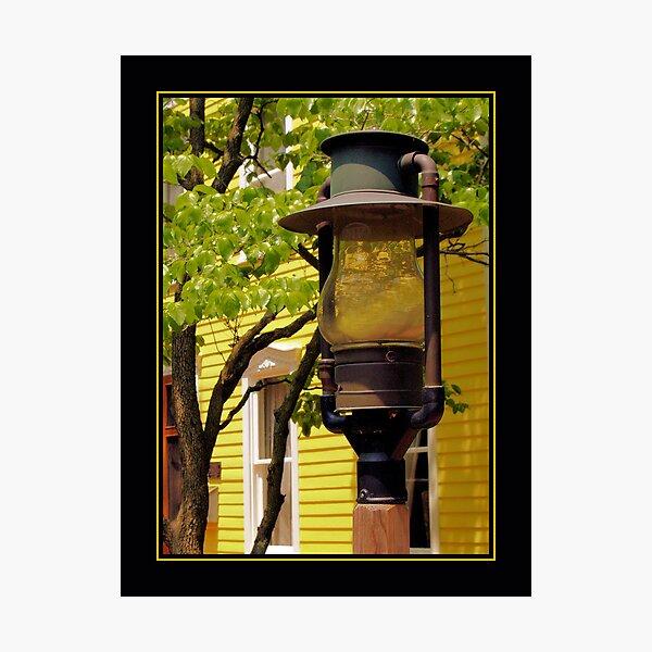Yellow Glow Photographic Print