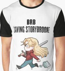 BRB - saving storybrooke Graphic T-Shirt