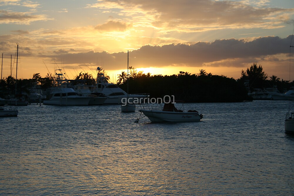 Sunset at PR Bay by gcarrion01