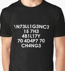 Intelligence Graphic T-Shirt