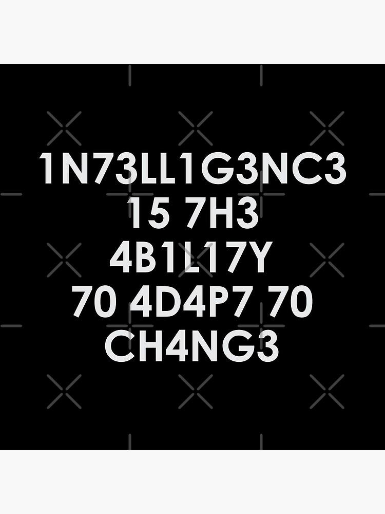 Intelligence by DJBALOGH