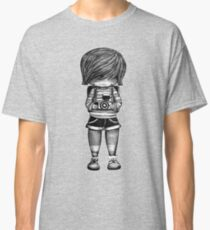 Smile Baby Photographer black and white Classic T-Shirt