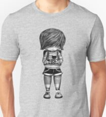 Smile Baby Photographer black and white Unisex T-Shirt
