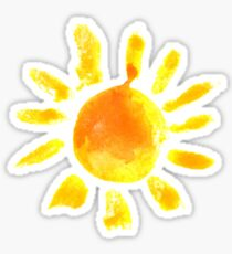 Sunshine for any day Sticker