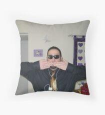 Hear No Evil, See No Evil, Speak No Evil Throw Pillow