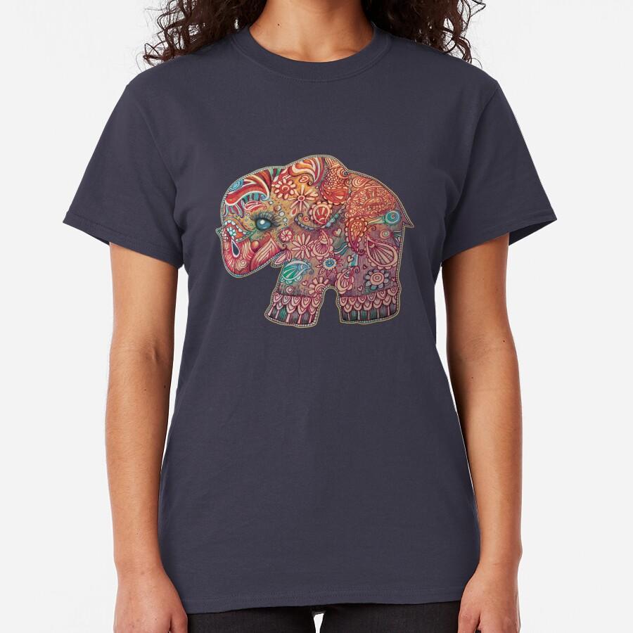 Vintage Elephant Classic T-Shirt