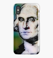 PRESIDENT GEORGE WASHINGTON iPhone Case/Skin