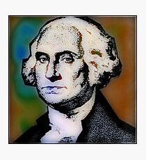 PRESIDENT GEORGE WASHINGTON Photographic Print