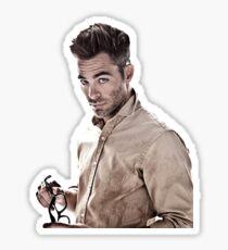 Chris Pine Sticker