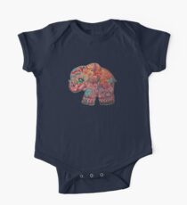 Vintage Elephant TShirt Kids Clothes