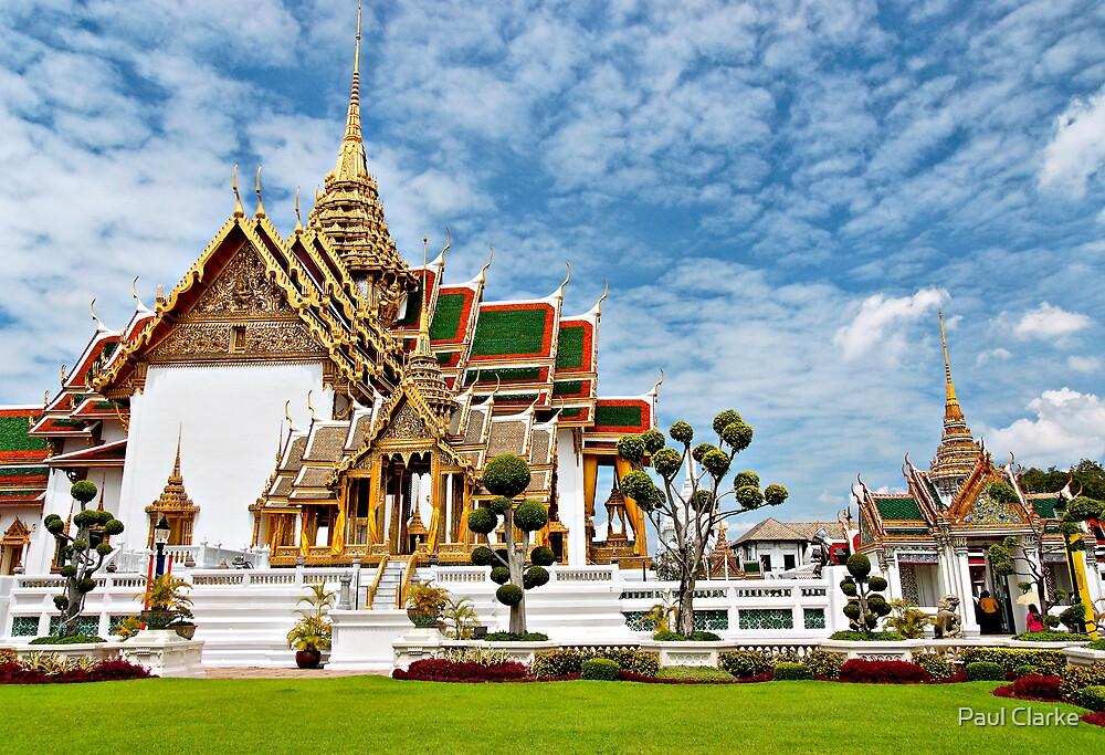 Buddhist Temple by Paul Clarke