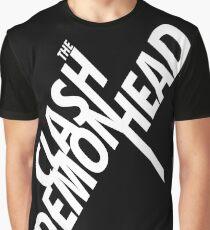 The Clash at Demonhead White Graphic T-Shirt