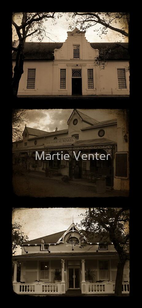 Stellenbosch Heritage by Martie Venter