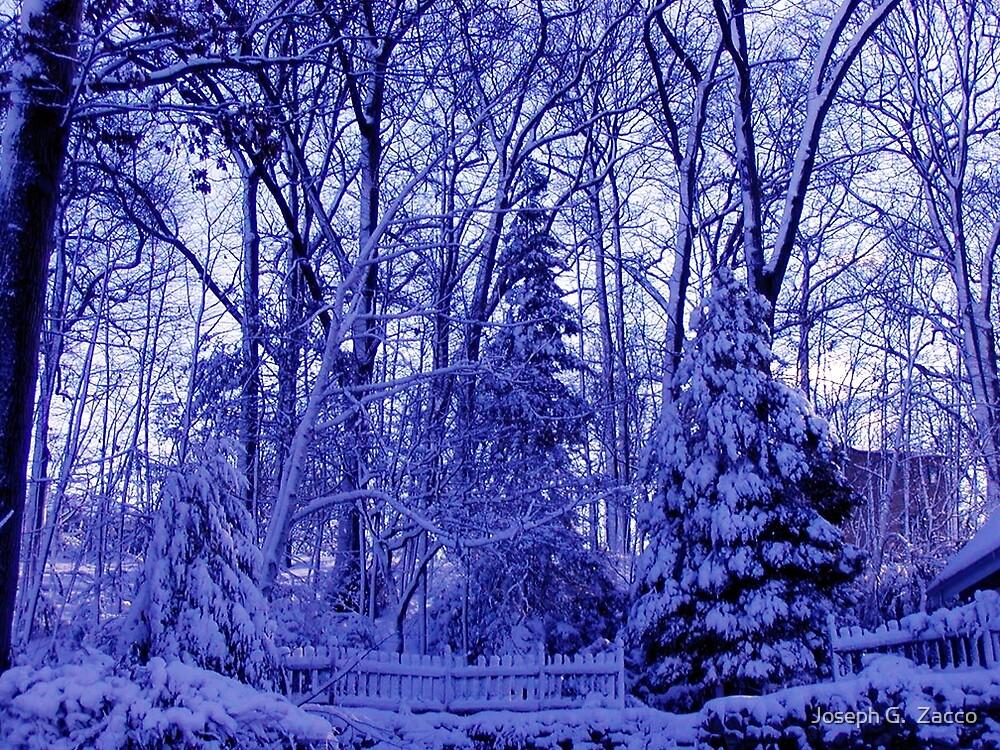 Cold Blue Ice by Joseph G.  Zacco