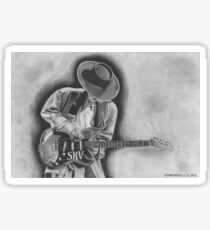 Electric Blues Legend Sticker