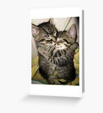 enfold Greeting Card