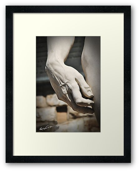 "The Hand of ""David di Michelangelo"", Florence Tuscany by robozcapoz"
