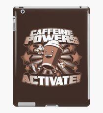 Caffeine Powers... Activate! iPad Case/Skin