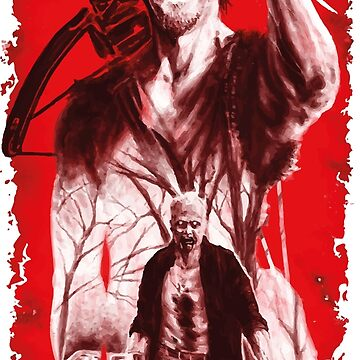 the walking dead t-shirt by Brunney
